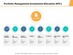 Portfolio Management Investment Allocation Kpis Ppt PowerPoint Presentation File Graphics Download
