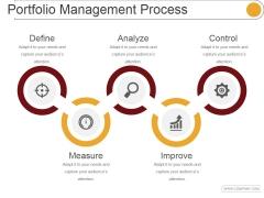 Portfolio Management Process Ppt PowerPoint Presentation Clipart