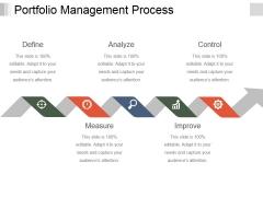 Portfolio Management Process Ppt PowerPoint Presentation Outline Diagrams