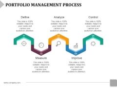 Portfolio Management Process Ppt PowerPoint Presentation Show Slide Portrait