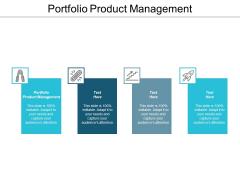 Portfolio Product Management Ppt PowerPoint Presentation Portfolio Show Cpb