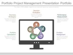 Portfolio Project Management Presentation Portfolio