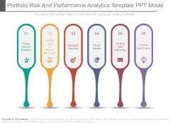 Portfolio Risk And Performance Analytics Template Ppt Model
