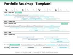 Portfolio Roadmap Market Analysis Ppt PowerPoint Presentation Slides Elements