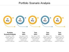 Portfolio Scenario Analysis Ppt PowerPoint Presentation Outline Structure Cpb