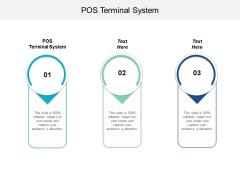 Pos Terminal System Ppt PowerPoint Presentation Summary Ideas Cpb