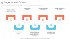 Positioning Store Brands Target Market Criteria Ppt Ideas Smartart PDF