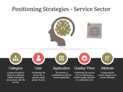 Positioning Strategies Service Sector Ppt PowerPoint Presentation Layouts Microsoft