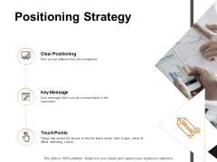 Positioning Strategy Ppt PowerPoint Presentation Examples