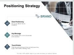 Positioning Strategy Ppt PowerPoint Presentation Summary Graphic Images