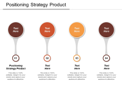 Positioning Strategy Product Ppt PowerPoint Presentation Professional Graphics Template Cpb