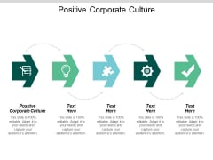 Positive Corporate Culture Ppt PowerPoint Presentation Summary Slide Portrait Cpb