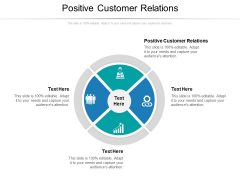 Positive Customer Relations Ppt PowerPoint Presentation Styles Graphics Tutorials Cpb Pdf