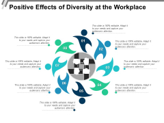 Positive Effects Of Diversity At The Workplace Ppt PowerPoint Presentation Pictures Microsoft PDF