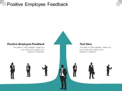 Positive Employee Feedback Ppt PowerPoint Presentation Infographics Visuals Cpb
