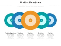 Positive Experience Ppt PowerPoint Presentation File Icon Cpb Pdf