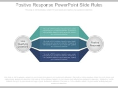 Positive Response Powerpoint Slide Rules