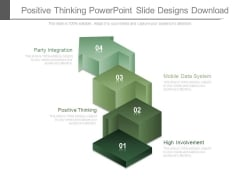 Positive Thinking Powerpoint Slide Designs Download
