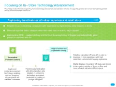 Post COVID Recovery Strategy For Retail Industry Focusing On In Store Technology Advancement Guidelines PDF