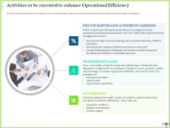 Post COVID Recovery Strategy Oil Gas Industry Activities To Be Executed To Enhance Operational Efficiency Information PDF