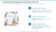 Post Initial Pubic Offering Market Pitch Deck Marketing Strategies For Business Growth Diagrams PDF