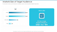 Post Initial Pubic Offering Market Pitch Deck Markets Size Of Target Audience Introduction PDF