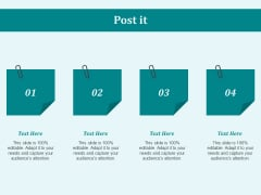 Post It Education Ppt PowerPoint Presentation Layouts Demonstration