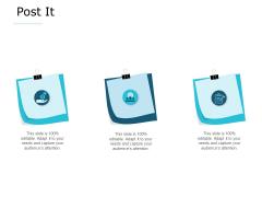 Post It Management Ppt PowerPoint Presentation Slides Demonstration