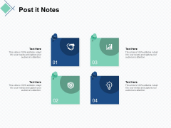 post it notes business ppt powerpoint presentation icon ideas