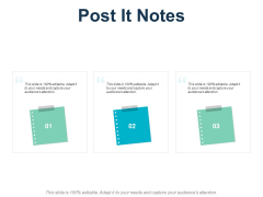 Post It Notes Business Ppt PowerPoint Presentation Model Elements