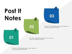 Post It Notes Capability Maturity Matrix Ppt PowerPoint Presentation Ideas Slides