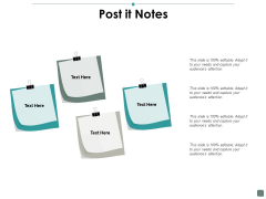 Post It Notes Contribution Ppt PowerPoint Presentation Styles Backgrounds
