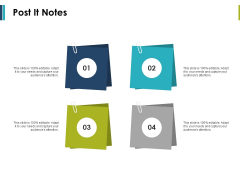 Post It Notes Management Ppt PowerPoint Presentation Styles Structure