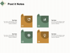 Post It Notes Opportunity Ppt Powerpoint Presentation Slides Inspiration