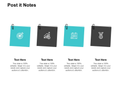 Post It Notes Ppt PowerPoint Presentation Infographic Template Demonstration