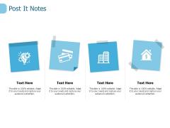 Post It Notes Ppt PowerPoint Presentation Portfolio Ideas