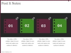 Post It Notes Ppt PowerPoint Presentation Visuals
