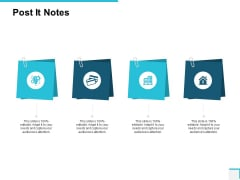 Post It Notes Sticky Ppt PowerPoint Presentation Portfolio Clipart