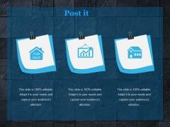 Post It Ppt PowerPoint Presentation Background Designs