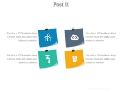 Post It Ppt PowerPoint Presentation Background Images