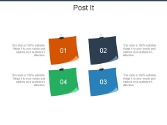 Post It Ppt PowerPoint Presentation Gallery Display