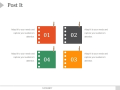 Post It Ppt PowerPoint Presentation Gallery