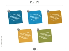Post It Ppt PowerPoint Presentation Introduction