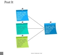 Post It Ppt PowerPoint Presentation Model Maker