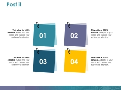 Post It Ppt PowerPoint Presentation Outline Graphics Design