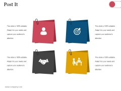 Post It Ppt PowerPoint Presentation Portfolio Shapes