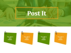 Post It Ppt PowerPoint Presentation Samples