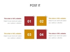 Post It Ppt PowerPoint Presentation Show