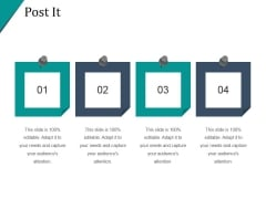 Post It Ppt PowerPoint Presentation Slide Download