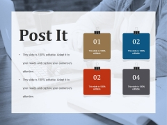 Post It Ppt PowerPoint Presentation Summary Information